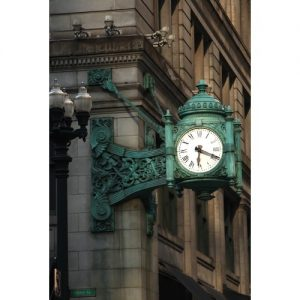 Chicago Postcard: Marshall Field & Company Clock CPC0034