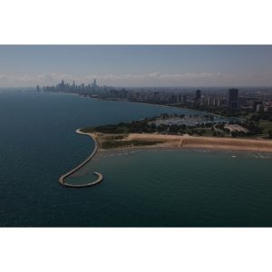 Chicago Postcard: Montrose Harbor Looking South CPC0038