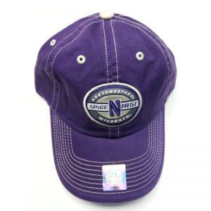 Adjustable Northwestern Wildcats Hat