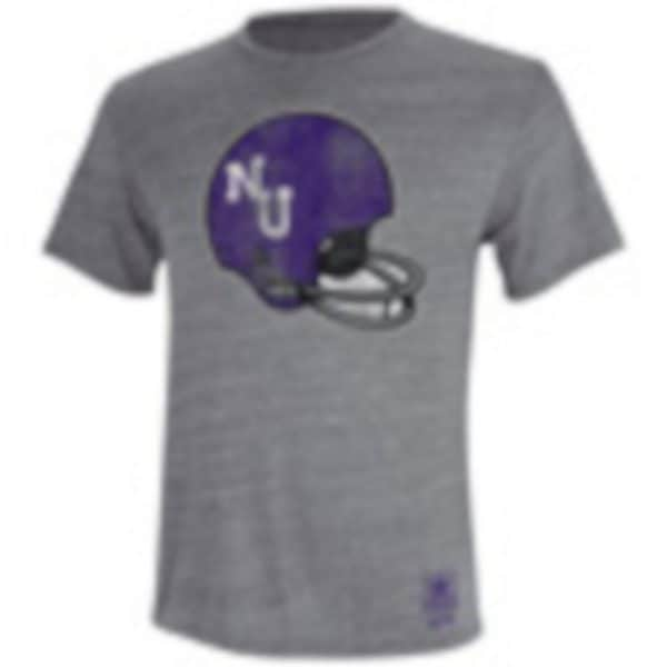 Supersoft Triblend T-Shirt with Helmet Design