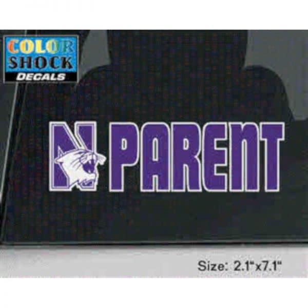 Northwestern University Parent Design Outside Application Decal