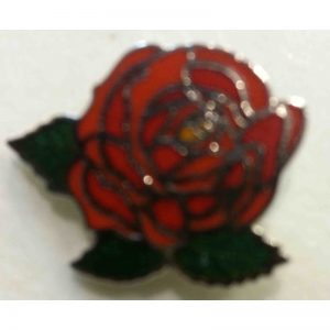 Rose Design Lapel Pin