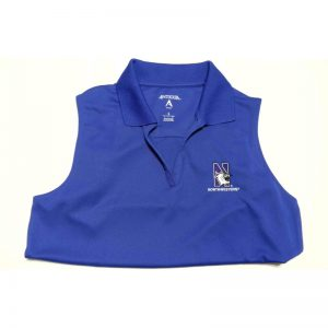 Northwestern Widcats Antigua Women's Orchid Sleeveless Polo Shirt Women's Sleeveless Exceed 100222