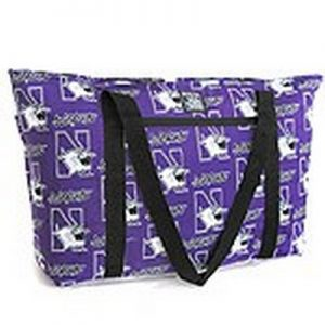Northwestern Widcats Large Tote Bag