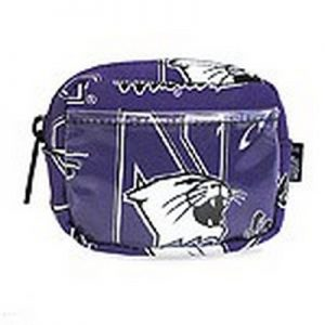 Northwestern Widcats Coin Purse & ID Holder