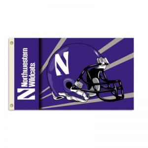 Northwestern Widcats Flag 3' X 5'