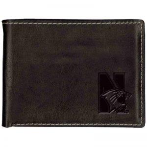 Northwestern Widcats Leather Billfold Wallet