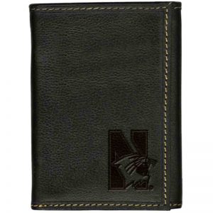 Northwestern Widcats Leather Trifold Wallet