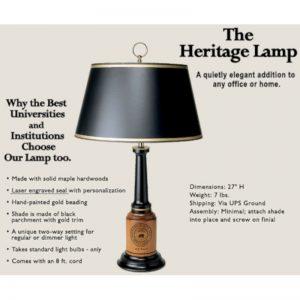 Northwestern Widcats Heritage Lamp
