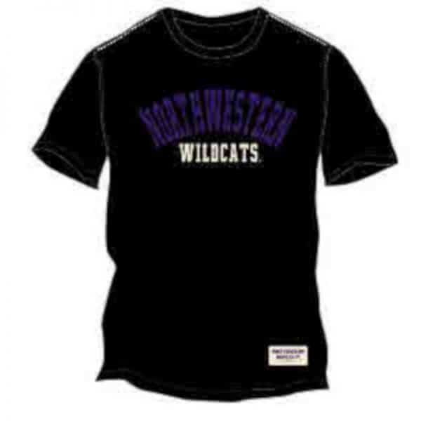 Northwestern Wildcats Colosseum Men's Sewn on Tee Shirt
