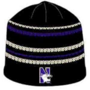 Northwestern Wildcats Colosseum Men's Knit Cap