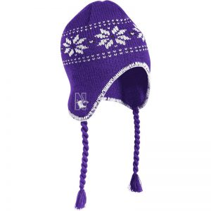 Northwestern Wildcats Adult Tassel Knit Cap