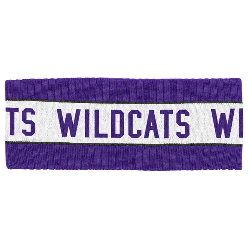 Northwestern Wildcats Adult Knit Headband
