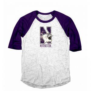 Northwestern Wildcats Women's Long Sleeve Tee Shirt