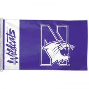 Northwestern Wildcats Flag 3'X5'
