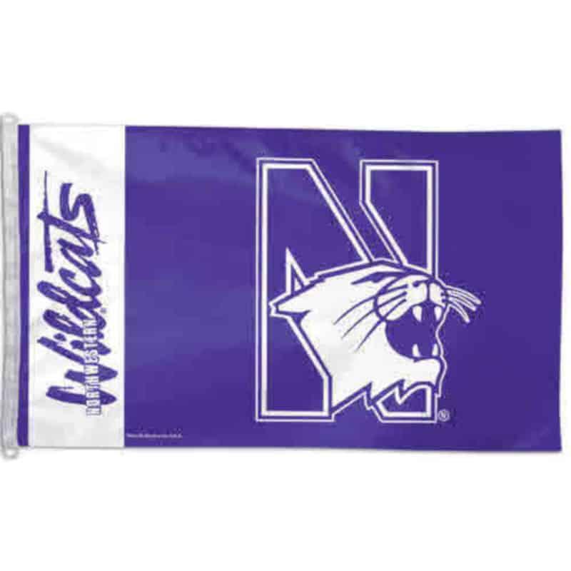 Northwestern Wildcats Flag 3'X5'