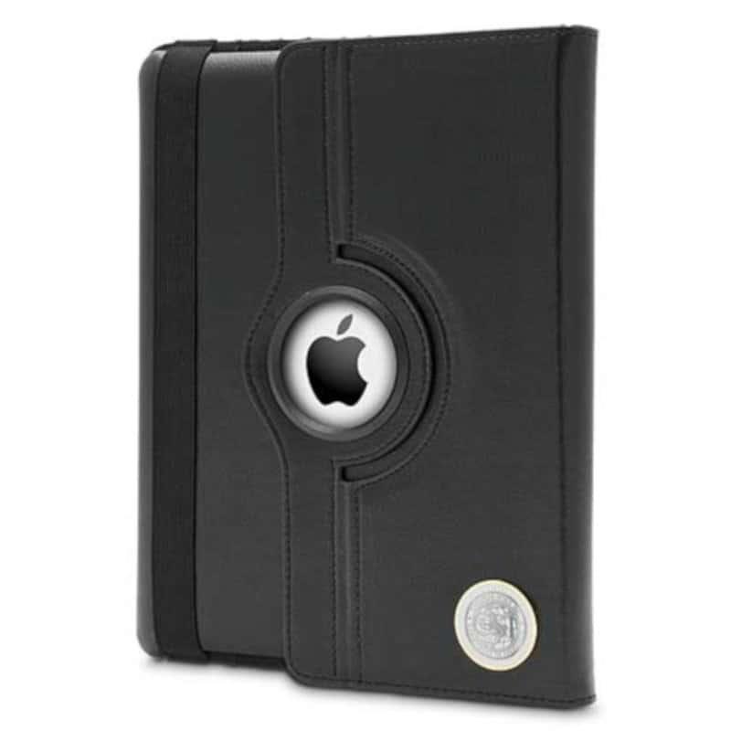 Northwestern Wildcats Mascot Design Silver Medallion iPad 2 & 3 Case
