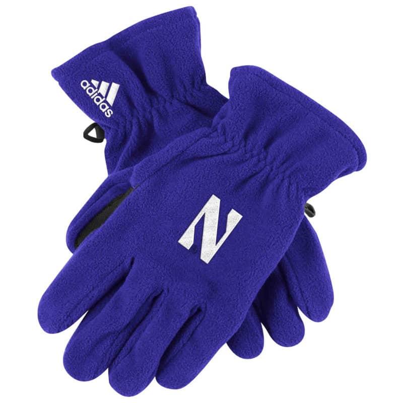 Northwestern Wildcats Polar Fleece Gloves