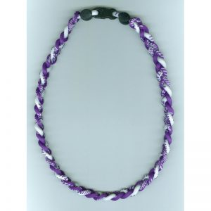 Northwestern Wildcats Titanium Ionic Sports Purple Necklace