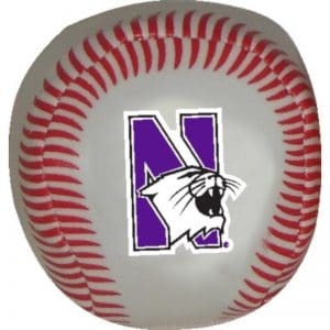 Northwestern Wildcats Beanball Baseball
