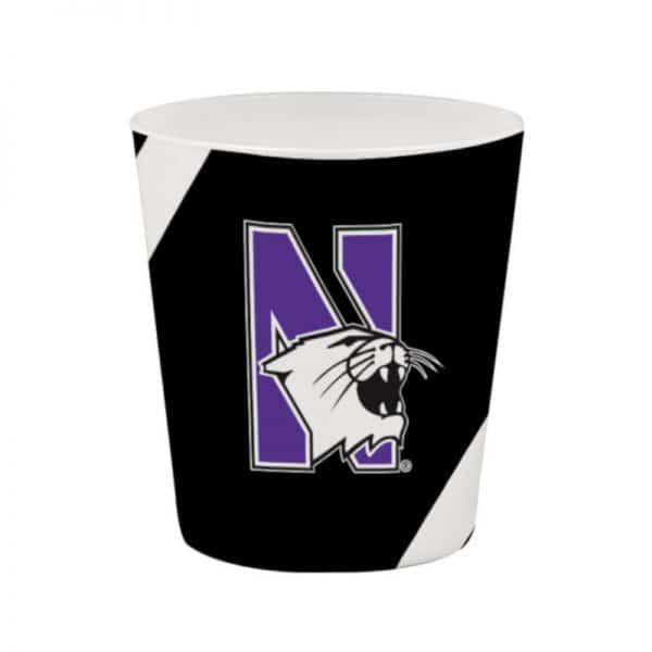 Northwestern Wildcats 12 OZ Colormax Executive Glass with Full Color Wraparound Print