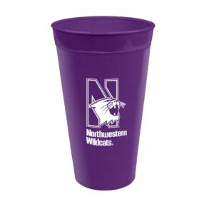 Northwestern Wildcats 30 OZ Whopper Tumbler