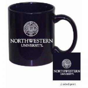 Northwestern Wildcats 11 oz. Purple Ceramic Coffee Mug  with Seal Design