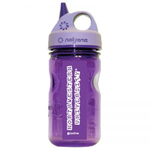 "Northwestern Wildcats 12 oz. Purple Grip'n Gulp Titan Nalgene Bottle with ""N-Cat Northwestern University"" Design"
