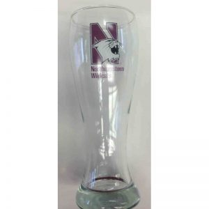 "Northwestern Wildcats 23 oz. Giant Beer Mug with ""Multi Color N-Cat"" Design"
