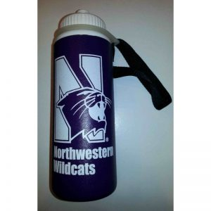 Northwestern Wildcats 32 oz.  Lightly Insulated Squeezable Purple Water Bottle