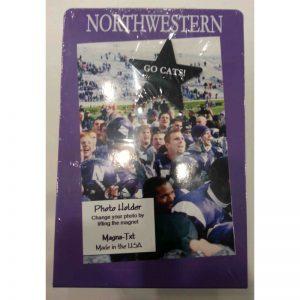 "Northwestern Wildcats Vertical Purple Metal Picture Frame with ""Northwestern"" Design 4""X6"""