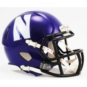 Northwestern Wildcats Mini Speed Helmet