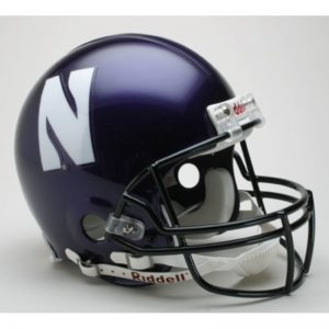 Northwestern Wildcats Riddell Full Size Authentic Helmet