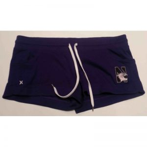 Northwestern Wildcats Hurley Ladies Purple Short