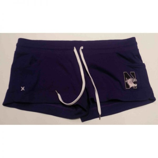 Northwestern Wildcats Hurley Ladies Purple Short