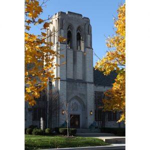 Northwestern Wildcats Postcard Levere Memorial Temple NU0015