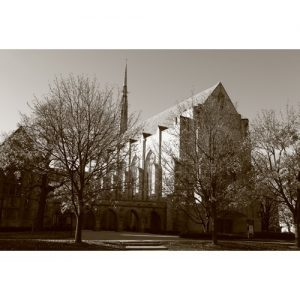 Northwestern Wildcats Postcard Alice Millar Chapel NU0017