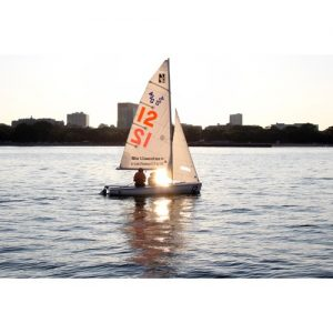 Northwestern Wildcats Postcard Northwestern University Sailing Team NU0038