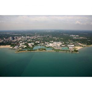 Northwestern Wildcats Postcard Evanston Aerial NU0053