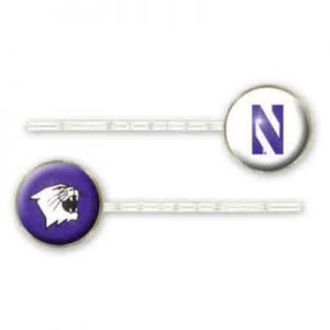 Northwestern Wildcats Bobby Pins
