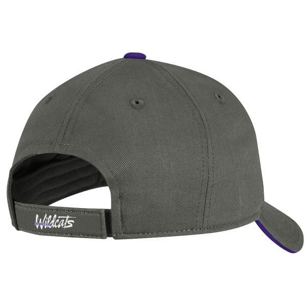 Adidas Constructed Cotton Gray Velcro Back Hat