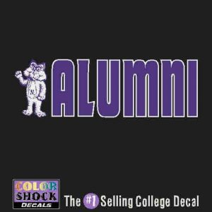 Northwestern Alumni Design Outside Application Decal