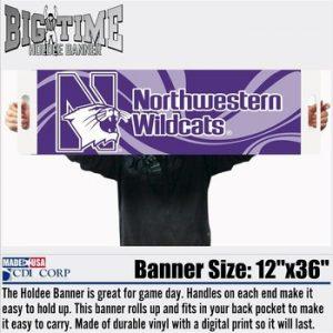 Northwestern University Holdee Banner