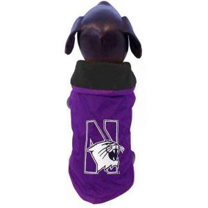 Northwestern University Wildcats Polar Fleece Dog Sweatshirt