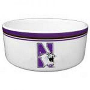Northwestern Widcats Large Ceramic Bowl