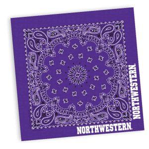 Northwestern Widcats Purple Bandana