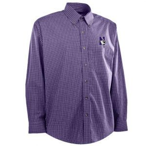 Northwestern University Wildcats Antigua Men's Dress Shirt Esteem