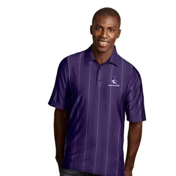 Northwestern Widcats Antigua Men's Polo Shirt   SERIES 100533