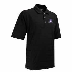 Northwestern Widcats Antigua Men's Polo Shirt   Tone 100054