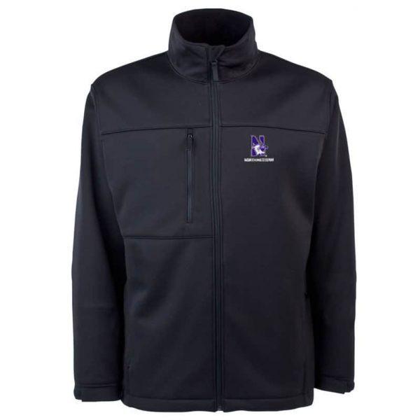 Northwestern Widcats Antigua Men's Black Jacket  Traverse  100388